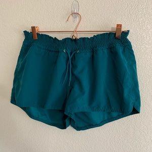 Old Navy | Dark Green Drawstring Shorts - Large